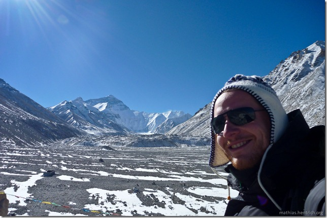 101105_P1020387_China, in Tibet, Mount Everest Region, Mount Everest, Mathias