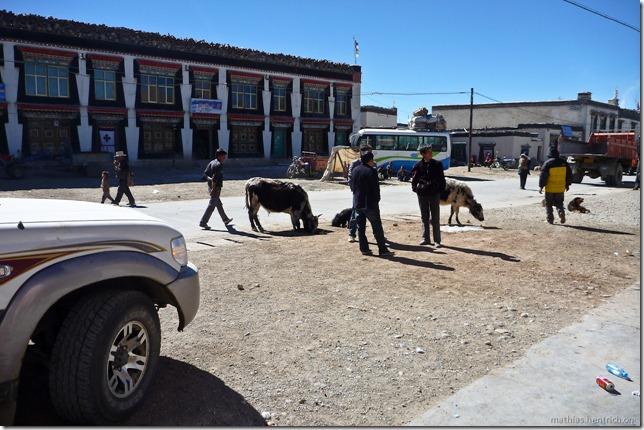 101105_P1020444_China, in Tibet, Dorf, Dorfleben