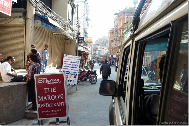 101106_P1020504_Nepal, nach Kathmandu, unterwegs, Kathmandu, Thamel