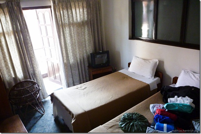 101106_P1020506_Nepal, Kathmandu, Thamel, Hotelzimmer