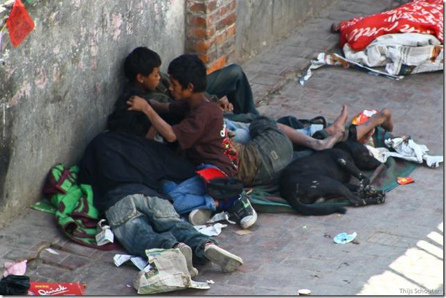 101110_TS-IMG_2680_Nepal, Kathmandu, Thamel, Straßenkinder