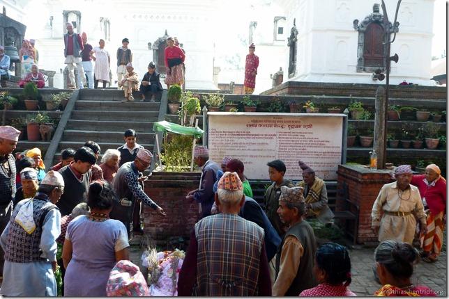 101111_P1020655_Nepal, Kathmandu, Mutter Theresa Altenheim, Toter