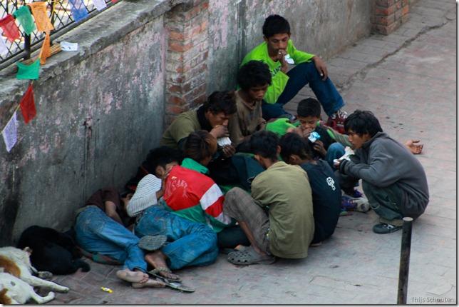 101111_TS-IMG_2814_Nepal, Kathmandu, Thamel, Straßenkinder