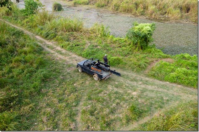 101113_P1020916_Nepal, Chitwan Nationalpark, Jeeptour, Ausguck