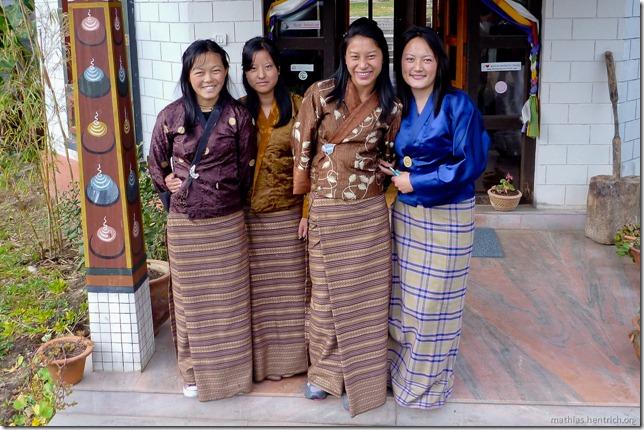 101119_P1030221_Bhutan, Paro, Hotel, Angestellte