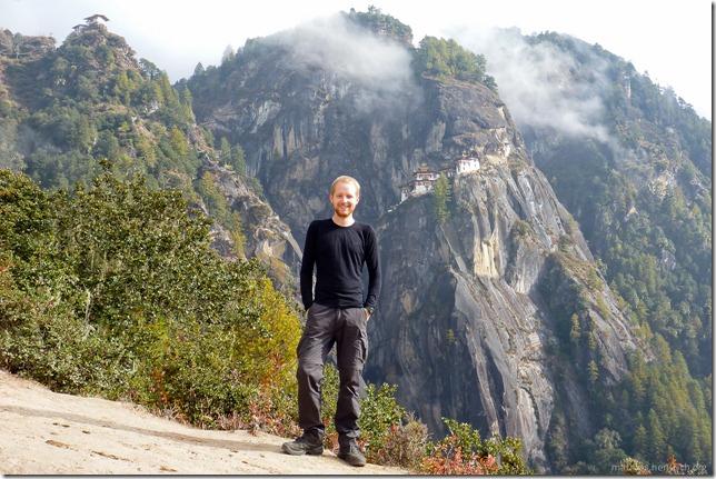 101119_P1030237_Bhutan, Paro, Tigers Nest, Mathias, Aussicht