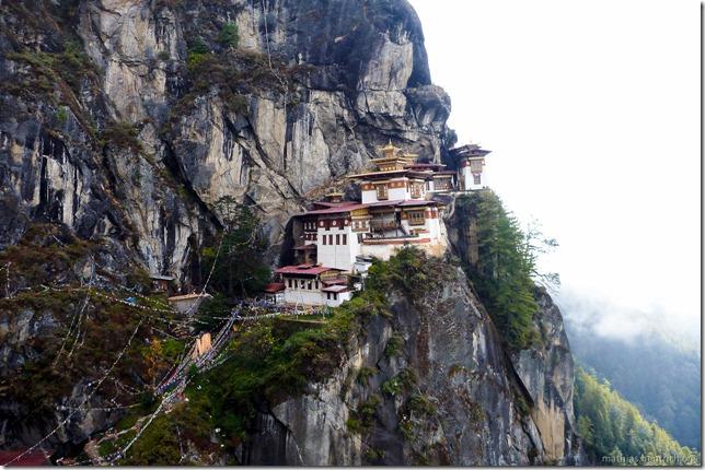 101119_P1030278_Bhutan, Paro, Tigers Nest, Aussicht, Tempel