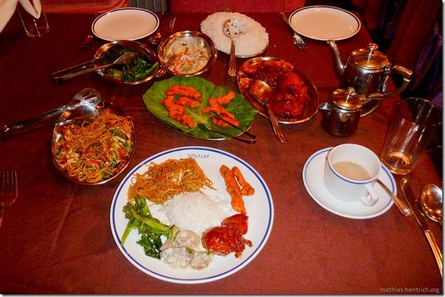 101119_P1030440_Bhutan, Thimphu, Hotel, Essen