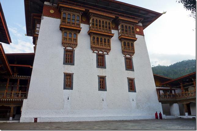 101120_P1030508_Bhutan, Punakha, Punakha Dzong, Innengebäude