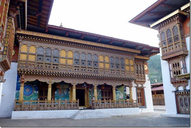101120_P1030511_Bhutan, Punakha, Punakha Dzong, Innengebäude