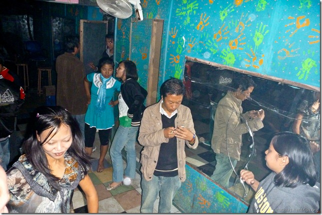 101121_P1030525_Bhutan, Punakha, Disco, Beginn